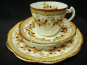 Wildblood Heath and Sons Imari tea trio